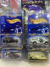 Hot Wheels in Protectors 2000 Seein 3d Series Lexus Chopper Olds Dodge Daytona
