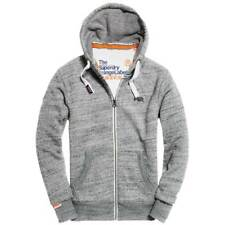 48aa839b7c Superdry Mens Orange Label Ziphood Sweatshirt Blue Eclipse Navy98t M