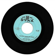 SAM & DAVE - YOU DON'T KNOW LIKE I KNOW - STAX - EXCELLENT CONDITION