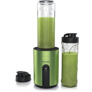 Arendo Standmixer   Smoothie Maker   inkl. 2x Tritan Becher   600ml   BPA-frei