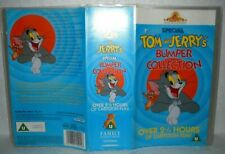 Tom And Jerry Bumper Collection- 2 VHS Video Tapes & Case, MGM, U. (2.5 Hours)