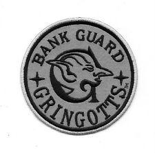 "Harry Potter Gringotts Bank Guard Embroidered 3 3/4"" Patch"
