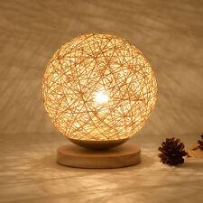 Fashion Simple Small Creative Modern Ball Bedside Desk Table Lamp Diameter 18cm