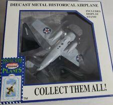 F 4 F WILDCAT U.S. NAVY FIGHTER Aircraft - WWII Era - Die-Cast - 1:87 (MA-9)
