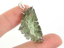 Moldavite BESEDNICE natural pendant - 4.5g #AGPEND2051