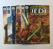 Star Wars Tales Of The Jedi: Dark Lords Of The Sith #1-6 Complete Set Dark Horse