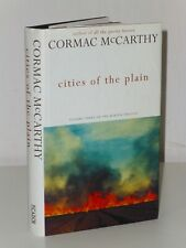 RARE Variant 1st Print Cities Of The Plain Cormac McCarthy Picador 1998 HB