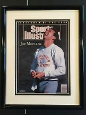 Joe Montana Upper Deck Authenticated Sports Illustrated Auto Autograph UDU23326