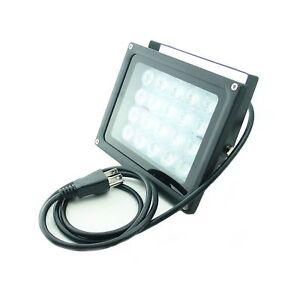 QUANS 110V 20W UV Ultra Violet High Power LED Light for Curing Glue Blackligh...