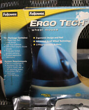 FELLOWES ERGO TECH MOUSE USB and PS2 for windows 95/98/2000/ME/XP/NT 4.0