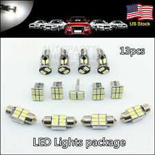 13×T10 31mm Interior Package LED Lights White Map Dome License 168 194 DE3175