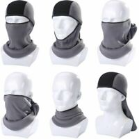 Winter Thermal Fleece Balaclava Full Face Mask Warmer Cycling Hood Liner Sports