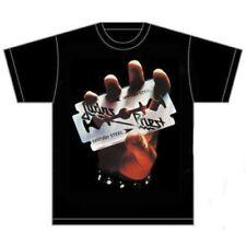 Rockoff - Judas Priest para hombre Tee British acero S