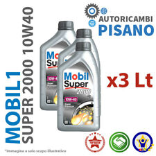 3 LITRI DI OLIO MOTORE ORIGINALE MOBIL 1 S 2000 10W40
