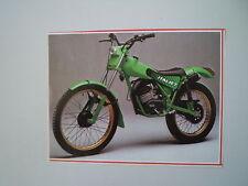 - RITAGLIO DI GIORNALE ANNO 1982 - MOTO ITALJET T 50 TRIAL