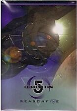 "Babylon 5 Season 5 - 81 Card ""Embossed"" Parallel Set"