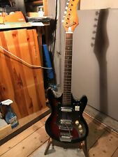 Kawai / Teisco ? Hertiecaster E-Gitarre Japan Vintage