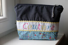 "Trousse broderie ""Couture"" (fait main)"