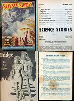 Science Stories December 1953 #2 vintage science fiction sci-fi pulp digest NICE