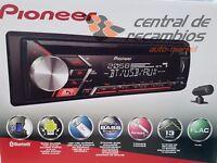 Autoradio lector CD MP3 Pioneer audi, skoda, seat bluetooth android DEH-S3000BT