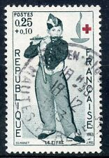 STAMP / TIMBRE FRANCE OBLITERE  N° 1401 CROIX ROUGE MANET