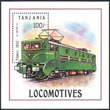 Tanzania 1991 Trains/Locomotives/Transport/Rail/Railways 1v m/s (s2467)