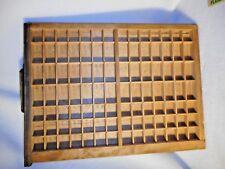 Vintage Type Drawer Old Printers Type Drawer Smaller Type Drawer VERY NICE