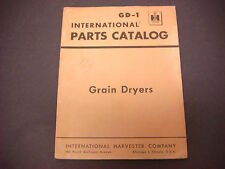 1964 International Harvester Parts Catalog GD-1 Grain Dryers M4542
