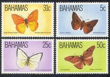 Bahamas 1983 Butterflies/Insects/Nature/Butterfly/Conservation 4v set (n40186)