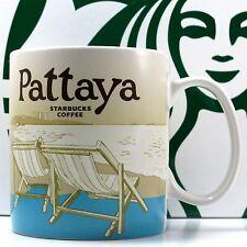 Thailand Starbucks PATTAYA CITY Mug Global Series Collector Coffee Tea 16 oz New