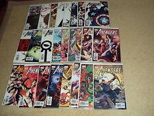 THE AVENGERS VOLUME 3 #50-74, MARVEL COMICS, FIRST PRINT, NEAR MINT COMIC BOOKS