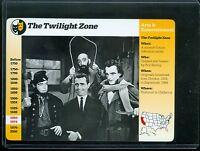 1996 Grolier TWILIGHT ZONE Rod Serling Trading card #53-17 Rare!