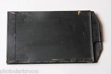 "2.5 x3.5"" Glass Plate Film Holder Arcap 2-Sided w/ Darkslides  - USED D13"