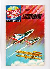 Wereld In Beeld  Nr.1   :: 1960's ::   :: Jets On Cover! ::   :: Dutch Copy! ::