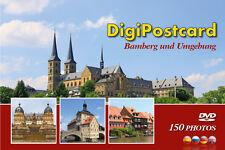 """DigiPostcard """"Bamberg und Umgebung"""" - Ansichtskarte mit DVD als Stadtführer"""