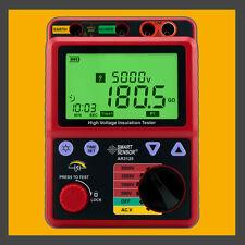 High Voltage 5KV Insulation Resistance Tester Meter Megger 1T Ohm PI AR3125