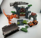 Kid Connection Dino Gate Wall & Gate Dinosaurs Playset Dinosaurs Make Noise Lot