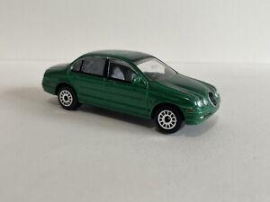 Realtoy Jaguar S Type Green 1:64