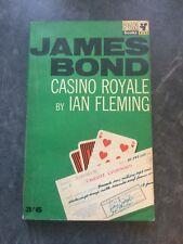 Casino Royal Ian Fleming 21st Impression 1965 Pan Paperback