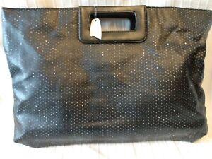 Victoria's Secret Bag - Black With Sparkles