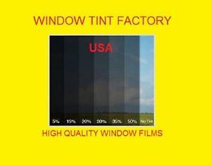 "Window film Tint 2 ply  high quality 20% Medium Black   Intersolar® 20"" x 100FT"