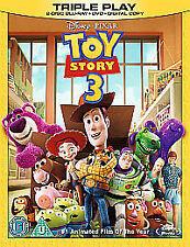 Toy Story 3 (Blu-ray and DVD Combo, 2010, 3-Disc Set) Walt Disney Pixar