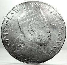 ETHIOPIA (MENELIK II) 1 BIRR 1889