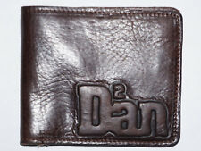 Dsquared2 Mens Brown Leather Bifold Wallet