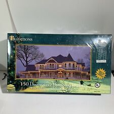 New Traditions 3 Pack 150 Decorative Christmas Hanging Lights Indoor Outdoor New