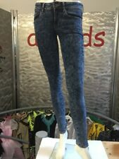 Mango Mng Jeans Jeggings Gr 34 Stonewash Blue Stretch 1A Zustand