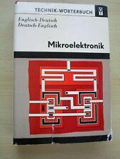 Technik-Wörterbuch Mikroelektronik Englisch-Deutsch Deutsch-Englisch. Bindmann,