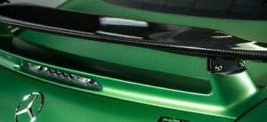 Mercedes-Benz OEM C190 AMG GT Fixed Static Spoiler Wing AMG Carbon Fiber New
