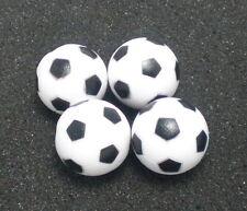 4PCS black&white 36mm SOCCER TABLE FOOSBALL footBALL babyfoot ball texture
