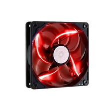Cooler Master Sickleflow 120 LED 120mm Computer Case Fan - Red